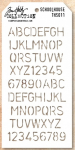 TIM HOLTZ - LAYERED STENCIL THS011 - SCHOOLHOUSE