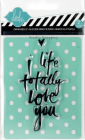 HEIDI SWAPP - STAMP & STENCIL 98156 - LOVE YOU - 4 igjen