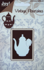 JOY CRAFTS - 6003-0020 - VINTAGE FLOURISHES - TEATIME