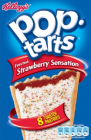 Kellogg`s Pop Tarts Strawberry Sensation