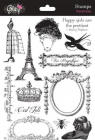 GLITZ DESIGN STAMPS - S3191 - FRENCH KISS