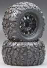 "Pro-Line 119913 Rock Rage 3.8"" All Terrain Tires Mounted Black"