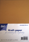 JOY CRAFT - KARTONG 8089-0203 - KRAFT A4 - 24 stk