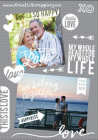 ME & MY BIG IDEAS - CLEAR STICKERS PPS13 - TRUE LOVE